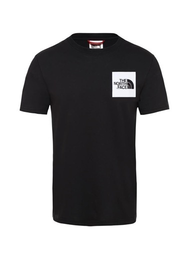 The North Face Fine Erkek T-Shirt Siyah Siyah